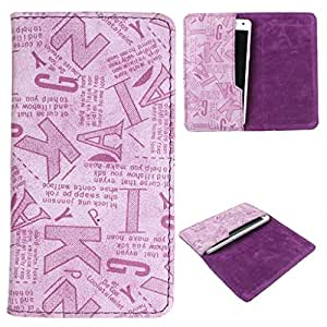 DooDa PU Leather Case Cover For Spice Stellar 430