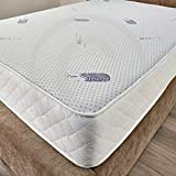 Bed Centre Luxury Memory Foam 22cm Deep Mattress Single Double King Super King (Double (137cmx190cm))