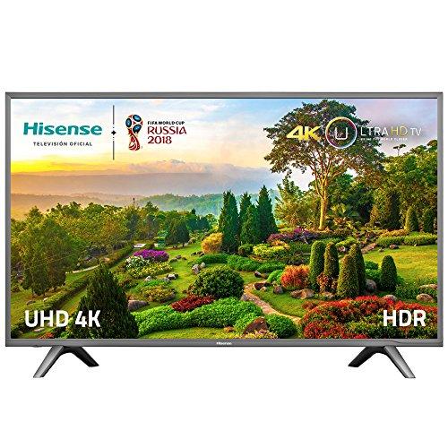 Televisor LED Hisense Smart TV de 55″ 4K Ultra HD por 441,67€