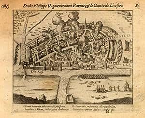 ThePrintsCollector Motif Antique-Neuss-Allemagne-War Baudartius - 1616
