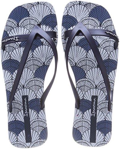 Ipanema Damen Fashion Kirey V FEM Zehentrenner, Mehrfarbig Blue, 43 EU