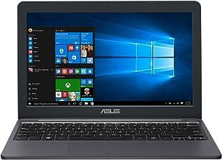 Asus VivoBook E12 E203MA 90NB0J02-M00790 29,4 cm (11,6 Zoll HD) Notebook (Intel Celeron N4000, 4GB RAM, 64GB EMMC, Intel UHD Graphics, Windows 10 Pro S) grau