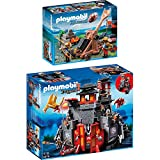 Playmobil Dragons & Knights 2er Set 5479 6039 Große Asia-Drachenburg