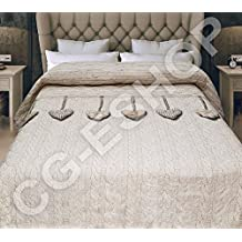 Amazon.it: copriletto matrimoniale moderno - Beige