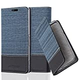Cadorabo Coque pour Sony Xperia Z2 en Bleu FONCÉ Noir – Housse Protection avec Fermoire Magnétique, Stand Horizontal et Fente Carte – Portefeuille Etui Poche Folio Case Cover