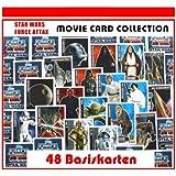 Star Wars Force Attax Serie–Movie Card Collection–48Base Tarjetas–Tarjetas de base