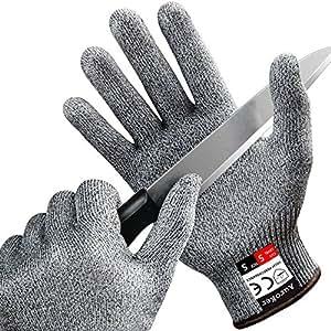 Taglio resistente guanti auroker guanti da cucina con il cibo grade level 5 protezione della - Guanti da cucina ...