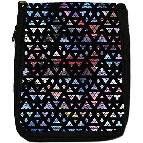Fancy A Snuggle, Borsa a spalla donna Interlocked Triangles In Space