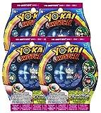 Lot de 4 sachets de 2 médailles Yo-Kai Watch Yo-Motion Saison 2 [Yo-Kai Watch]
