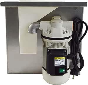 Adblue Tank Set 230v Pumpen Set Harnstoff Pumpe Chemikalien Pumpe Elektrische Pumpe Für Urea Mit Saug Und Druckschlauch Zapf Pistole Und Zubehör Mit Kupferwicklung Baumarkt