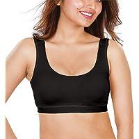 dermawear Women's Cotton Blended Non Padded Wire Free Sports Bra SB-1104