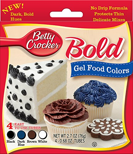Signature Brands Betty Crocker Gel Icing Food Colors 4/pkg-Bold