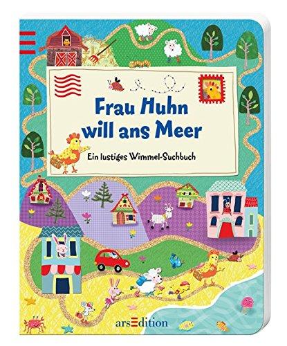 Frau Huhn will ans Meer: Ein lustiges Wimmel-Suchbuch Hock-set