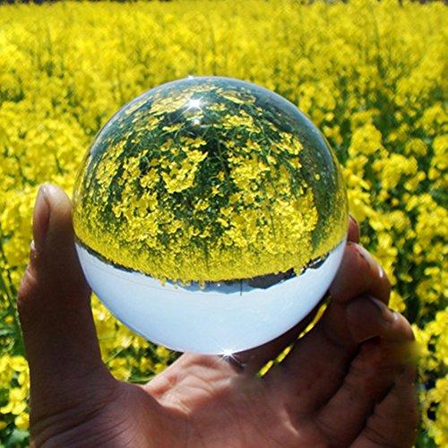 confronta il prezzo WINOMO Sfera di meditazione della sfera di cristallo di 4cm (bianco trasparente) miglior prezzo
