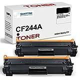 SMARTOMI - 2 cartucho de tóner negro de alto rendimiento compatible con cartuchos CF244A 44A para impresoras HP LaserJet Pro
