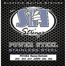 SIT PS1052 - Juego de cuerdas para guitarra eléctrica de acero