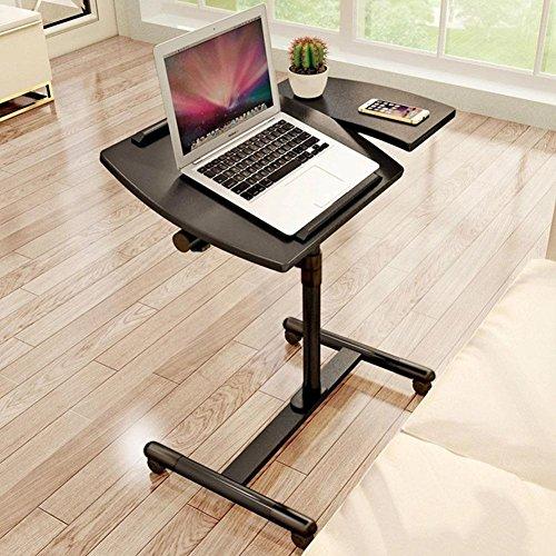 Einfacher beweglicher justierbarer stehender Laptop Schreibtisch. , black Gaming-hutch