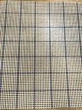 Zweigart - Mosquetón de Lona (5 HPI, 100 cm de Ancho), Color Azul, 50 x 100 cm