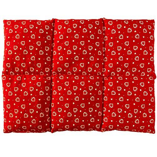 Almohada térmica | Bolsa de semillas para la espalda calor y frio | 40x30...