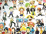 aufkleber one Piece Manga EIN Stück (46 Stück) Stickers