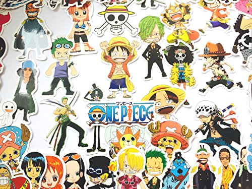 Pegatina ONE PIECE Sticker Manga de una Pieza (46 Piezas) Stickers Bom