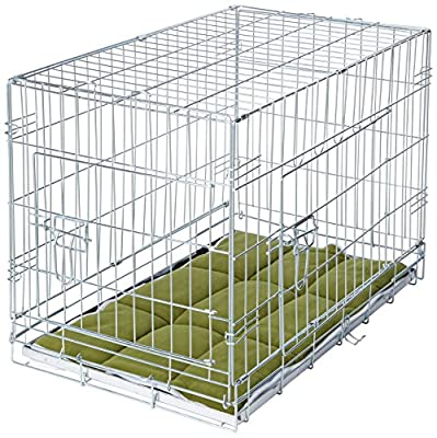 VivaPet Foldable Dog Crate Cage with Bedding from DogCages4u