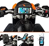 Ultimateaddons® Motorcycle Handlebar Strap Mount with Waterproof Case for Apple iPhone 6 6s 4.7
