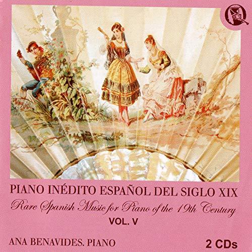 Piano Inédito Español Del Siglo XIX, Vol. 5 de Ana Benavides ...