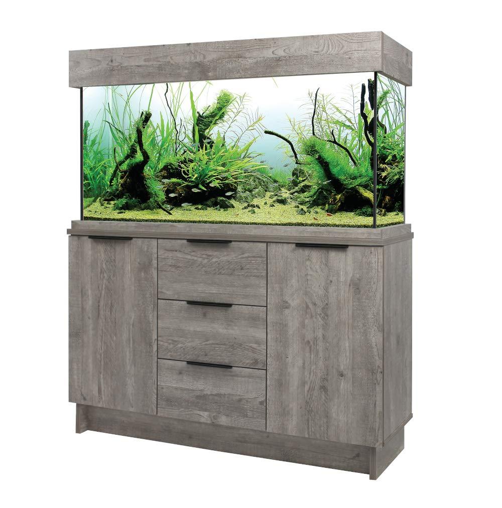 Aqua One Urban Oak Style Aquarium Fish Tank with Cabinet 116cm 230L