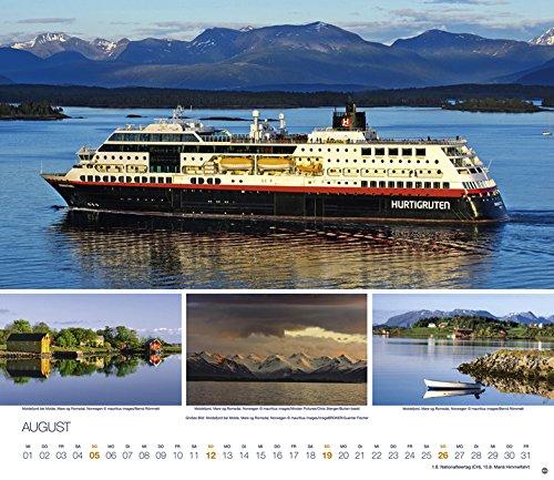 Hurtigruten Globetrotter Kreuzfahrten - Kalender 2018: Alle Infos bei Amazon