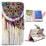 Maxfe.co PU Leder Wallet Schutzhülle für Samsung Galaxy