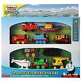 Mattel Fisher Price - Thomas y Sus Amigos - Pack 10 Locomotoras