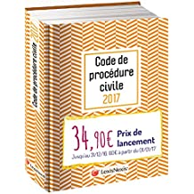 Code de procédure civile 2017 - Jaquette graphik orange: Version Ebook incluse.