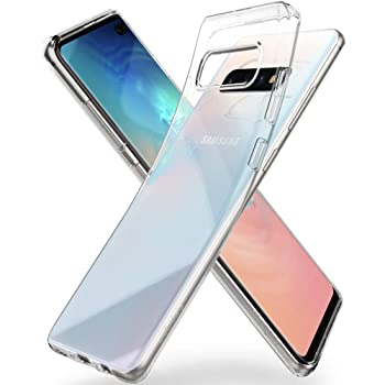 Spigen Coque Galaxy S10, Coque S10 [Liquid Crystal] Ultra Mince Premium TPU Silicone/Transparent