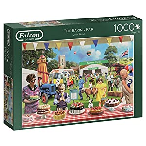 Jumbo- The Baking Fair Puzzle de 1000 Piezas (11201.0)