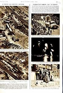 WOODBRIDGE 1951 FERROVIAIRE DE KRACH DE L'AMÉRIQUE AUSTRALIE SYDNEY