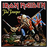 Unbekannt Iron Maiden Patch The Trooper Band Logo offiziell Nue Schwarz Woven (10cm x