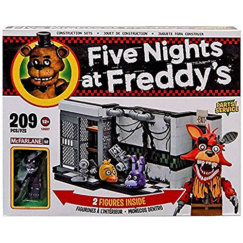 Five Nights At Freddy's Construction Set - Parts And Service