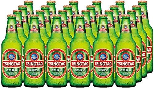 TSINGTAO Bière en Bouteille - Lot de 24