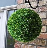 Gardman 30 cm Diameter Topiary Ball Leaf Effect