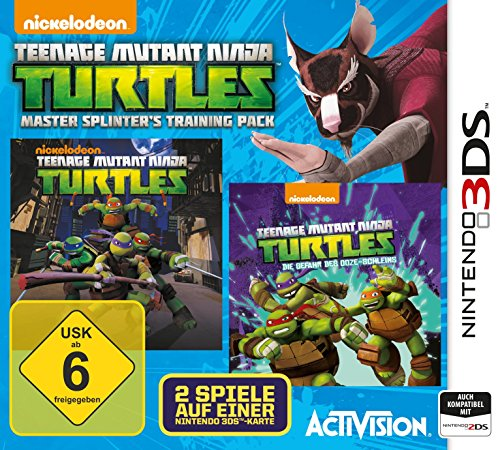 Teenage Mutant Ninja Turtles Master Splinter's Training Pack - [Nintendo (Turtles Teenage Ninja Mutant Nintendo)