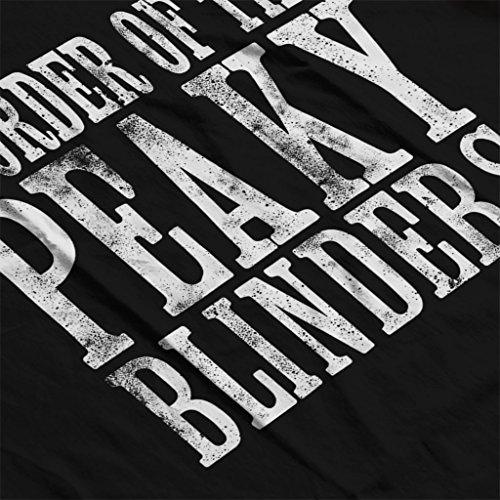 By The Order Of The Peaky Blinders Women's Hooded Sweatshirt Black