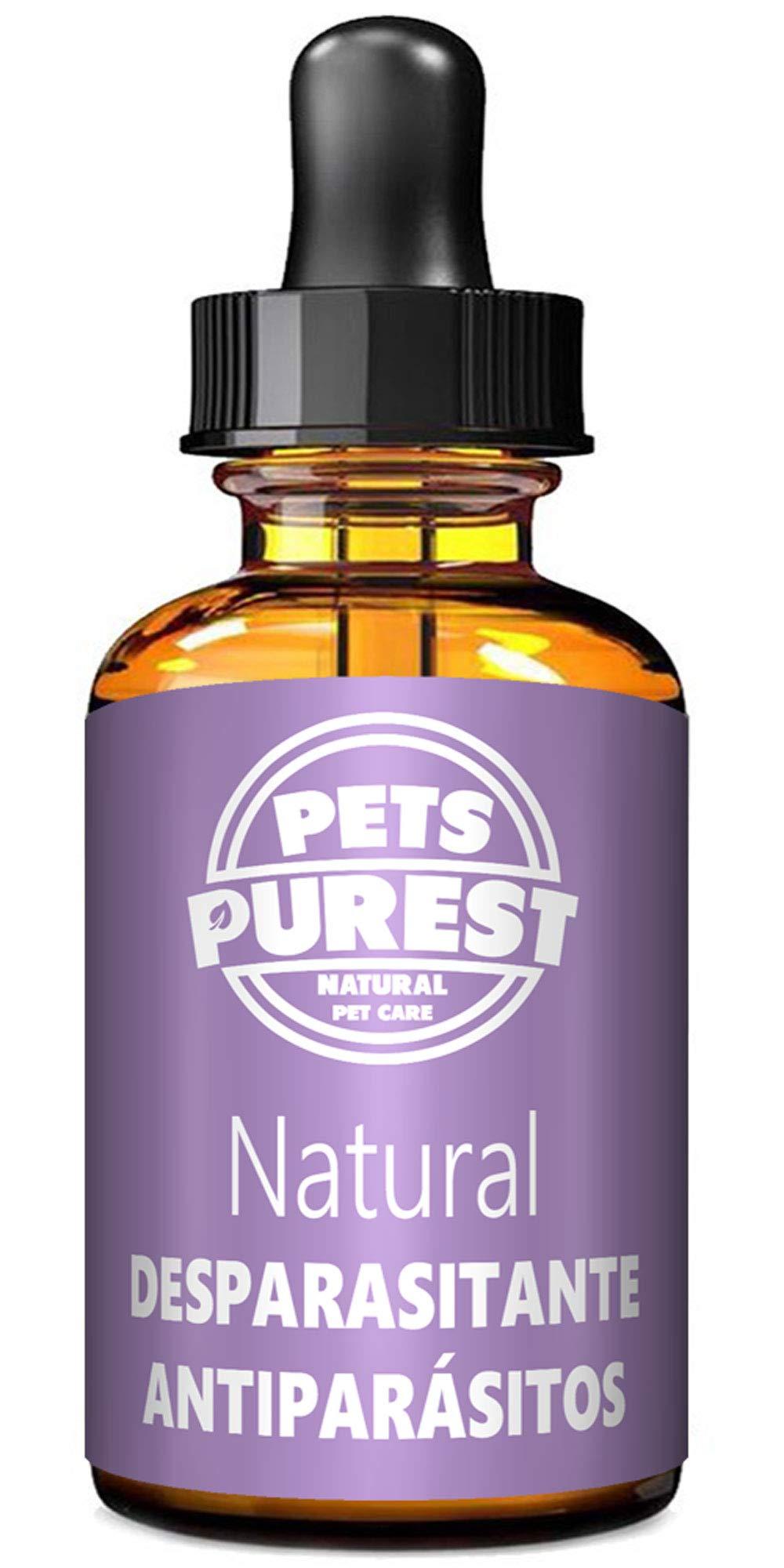 Comprar Desparasitante antiparasitario 100% natural para perros, gatos, aves, conejos Elimina gusanos lombrices intestinales anquilostomas gusano látigo