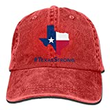 Linkla Danniol Men Women Texas Strong Adjustable Jeans Baseball Cap Outdoor Sports Hat