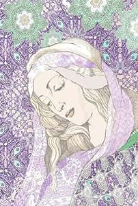 """""""Femme aux violettes"""" par INGRID JOHANN"""