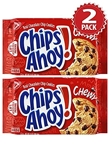 Cookies Chips Ahoy Chewy Chocolate Chip - Set de 2 (2x369g)