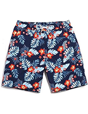 HAIYOUVK Summer Beach Shorts Male Quick-Drying Large Size Loose Casual Shorts Vacations Male Swimwear Boxer Shorts...
