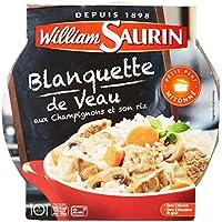 William Saurin Blanquette de Veaux aux Champignons & Son Riz 285 g