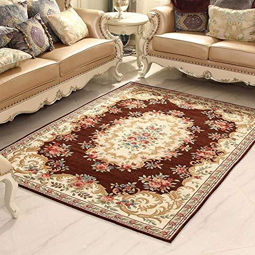 Aishankra V07 Wohnzimmer Europäischen Stil Einfache Teppich Home Area Teppiche Couchtisch Sofa Decke,9,5'2''X7'5''/160X230CM -