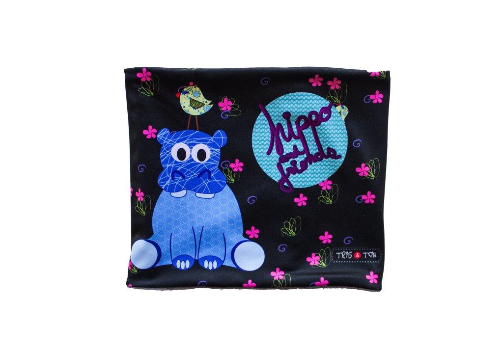 Tris&Ton bufanda para bebé niño niña invierno, braga de cuello (Trisyton) (Hippo) 1